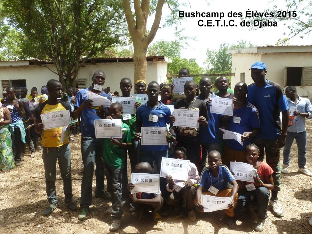 Natuuronderwijs voor basisschoolleerlingen uit dorpen in de omgeving van nationale parken.