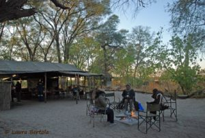 Stay in the researchers camp of the Botswana Predator Conservation Trust.