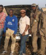 Hoop voor het Waza Nationaal Park in Kameroen